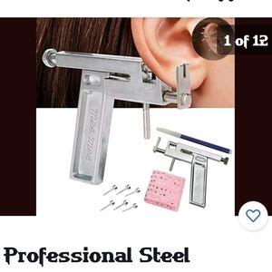 Professional steele body piercing gun